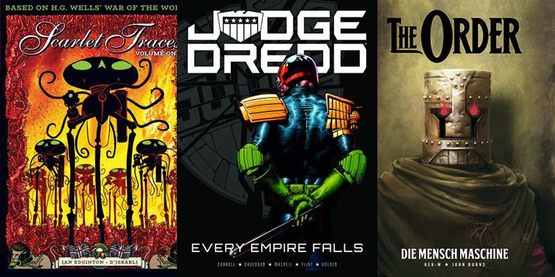 2000 AD 2017 Graphic Novels