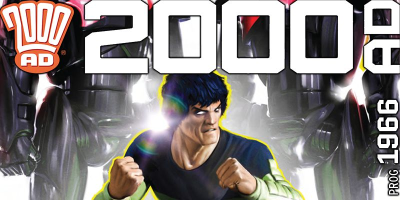 2000 AD Weekly Preview - Prog 1966