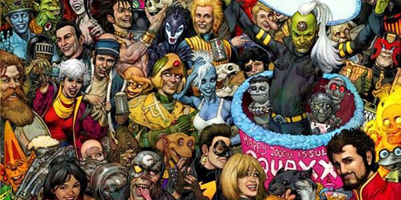 Huge Returns for 2000 AD's 2,000th Issue!