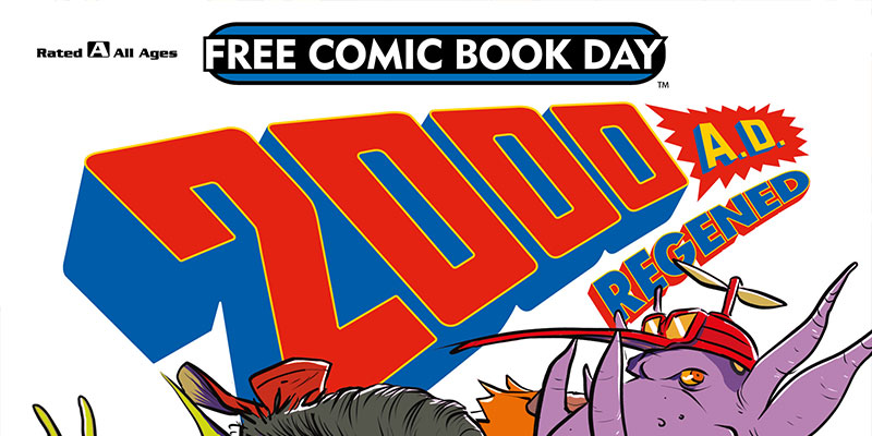 2000 AD announces all-ages title for Free Comic Book Day 2018