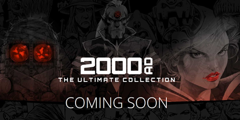 2000AD - The Ultimate Collection launches soon