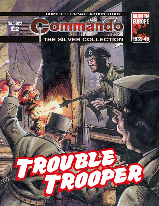 5022: The Silver Collection: Trouble Trooper