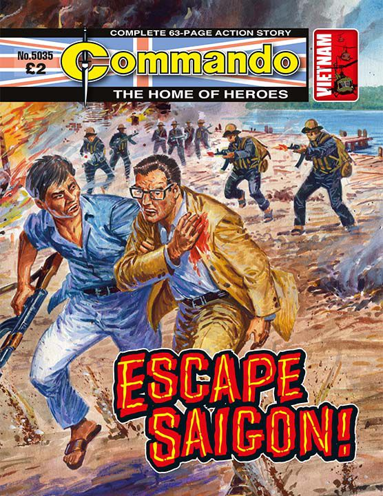 5035: Home of Heroes: Escape Saigon!