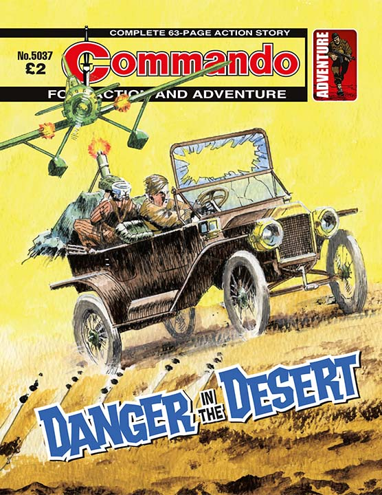 5037: Action and Adventure: Danger in the Desert