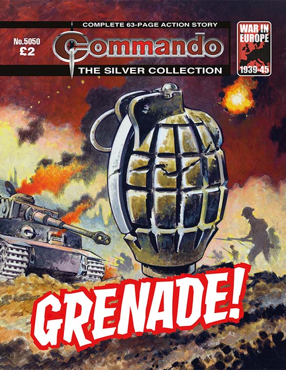 5050: Silver Collection: Grenade!