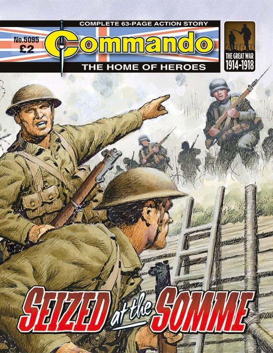 Commando 5095: Home of Heroes: Seized at the Somme