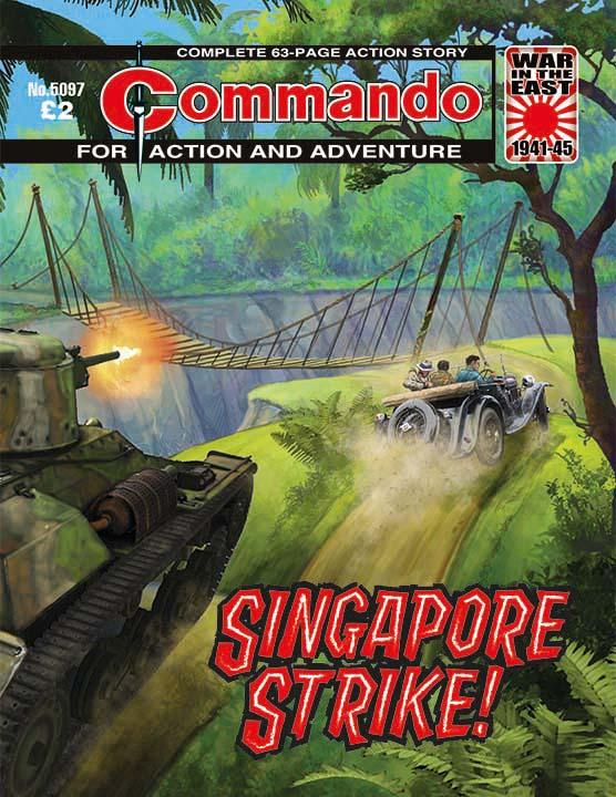 Commando 5097: Action and Adventure: Singapore Strike