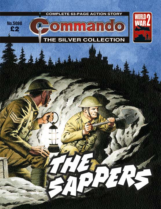 Commando 5098: Silver Collection: The Sappers
