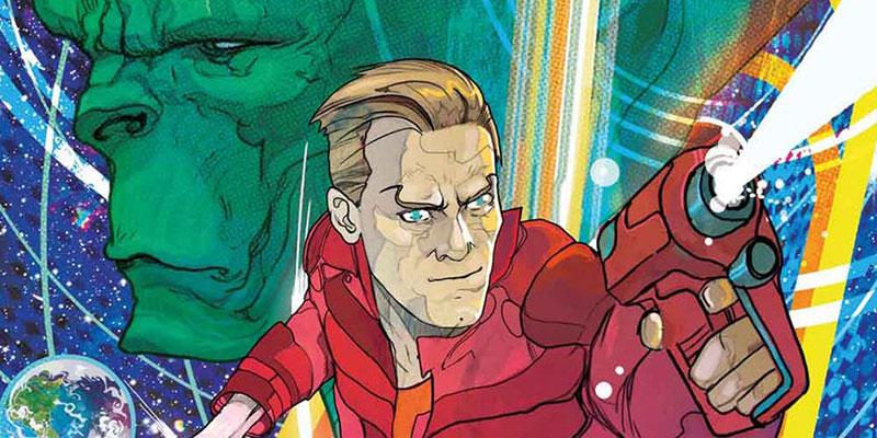 Dan Dare Returns This October in New Comic