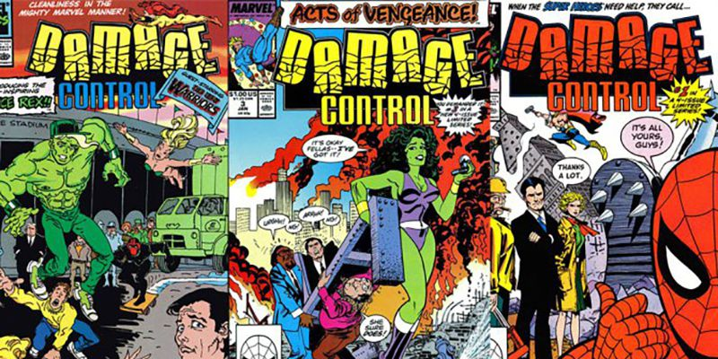 Damage Control series coming from Marvel