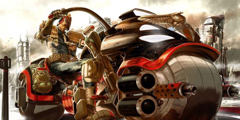 Judge Dredd's 40th Anniversary Celebrated in New Art Exhibit - 'Zarjaz'