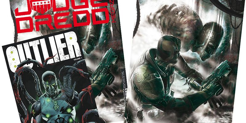 Judge Dredd Megazine #392 with prints