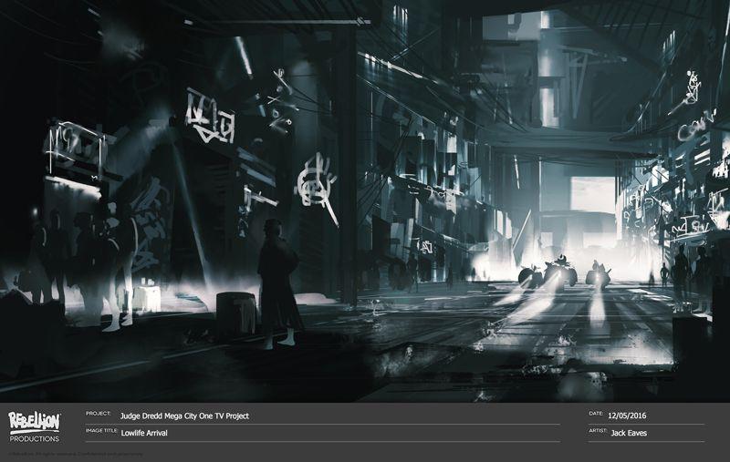 Judge Dredd: Mega-City One Concept Art 2