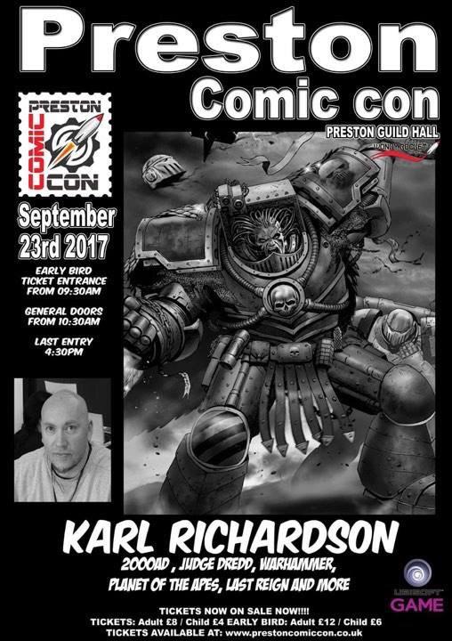 Preston Comic Con 2017