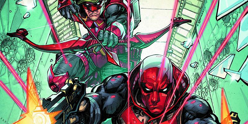 Red Hood / Arsenal #1 Review: Of Bromance, Guns and Arrows