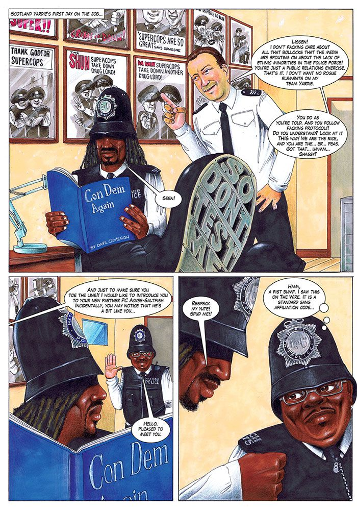 Scotland Yardie Page Preview