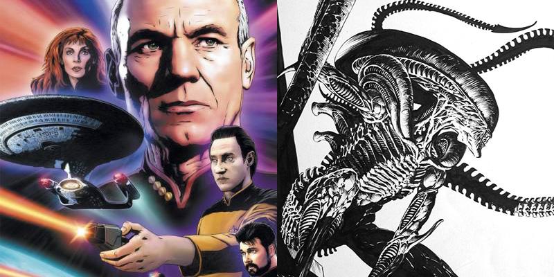 Star Trek: The Next Generation/Aliens Crossover Happening
