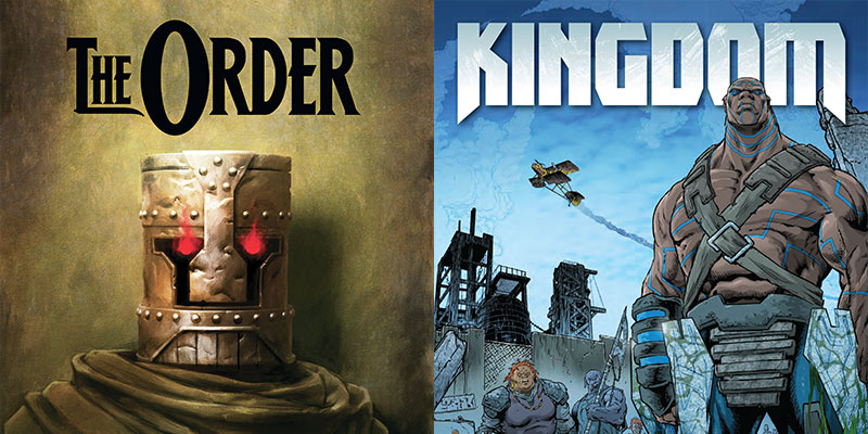Out this week from 2000 AD:  Die Mensch Maschine & Aux Drift