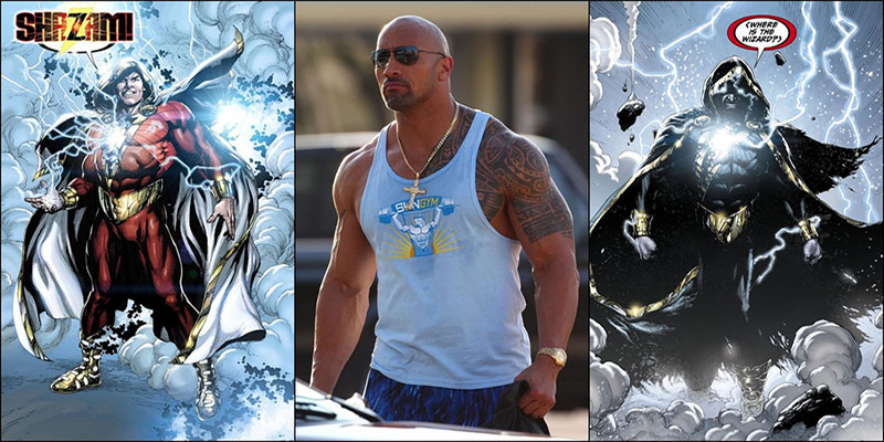 Dwayne Johnson to star in a Shazam movie