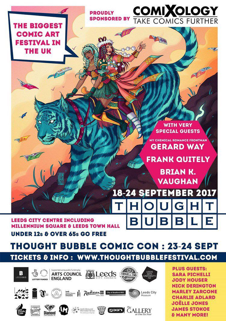 Thought Bubble Comic Con 2017