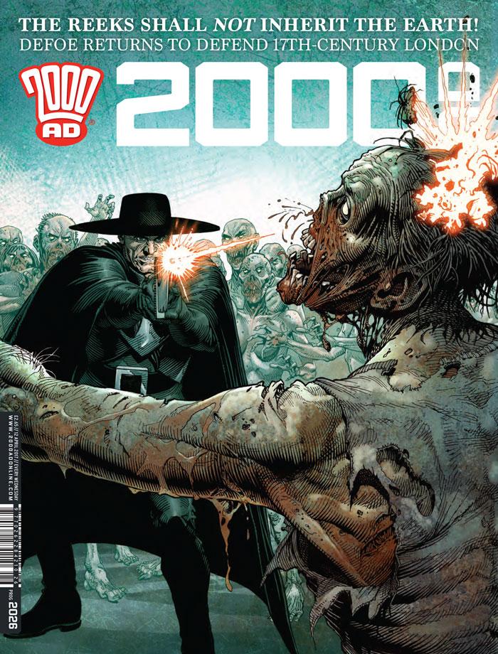 2000AD Prog 2026 Cover