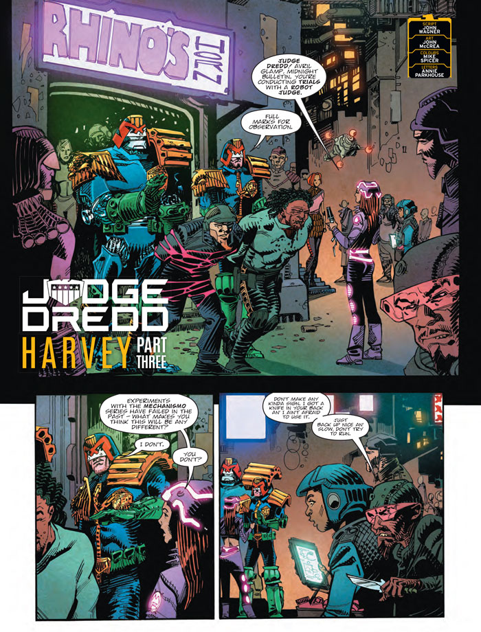 Judge Dredd: Harvey