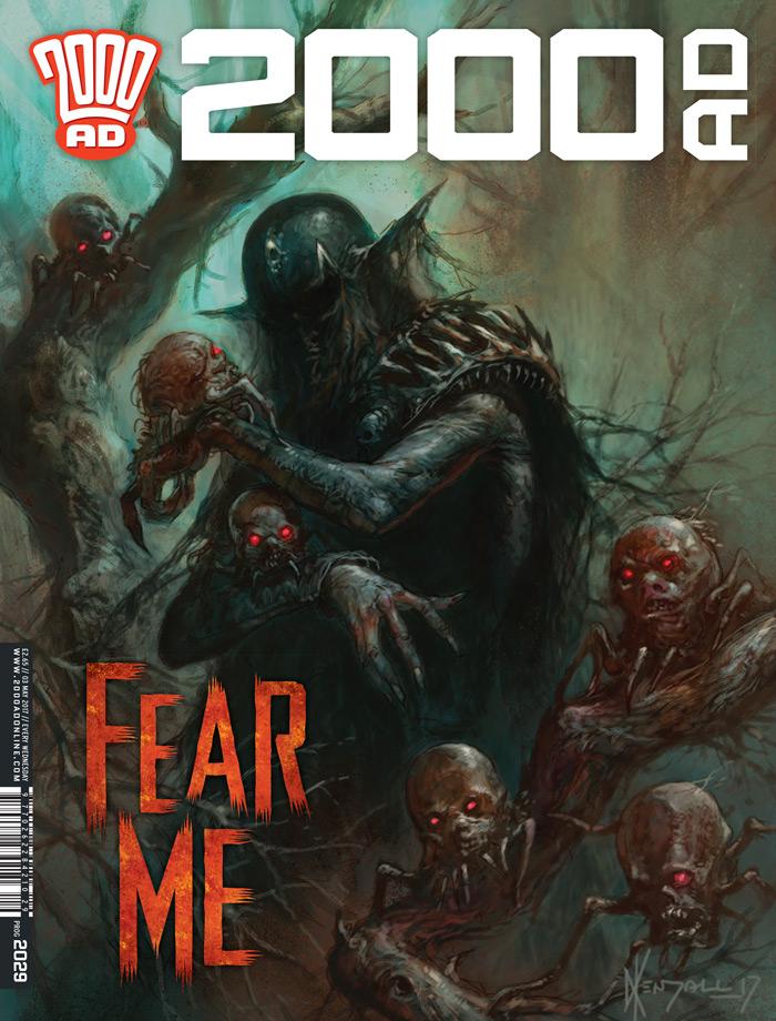 2000AD Prog 2028 Cover