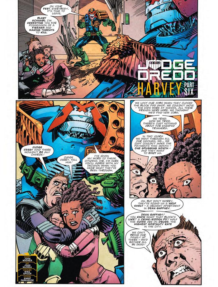 Judge Dredd: Harvey