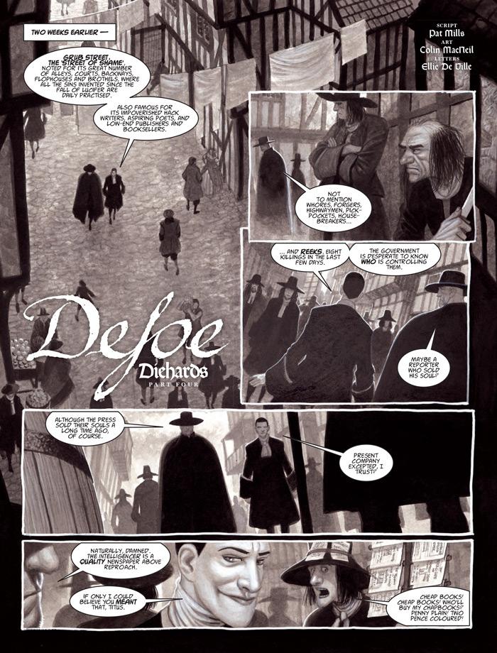 Defoe: Diehards